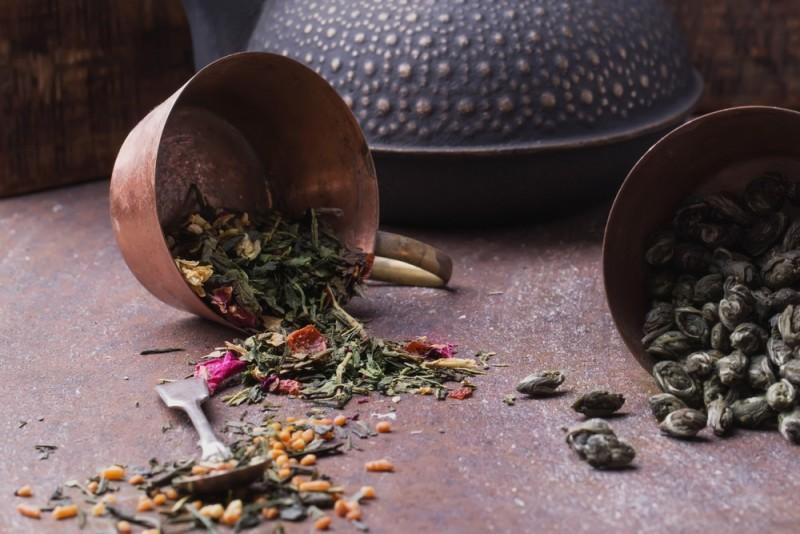 Rød te er rigtig lækkert