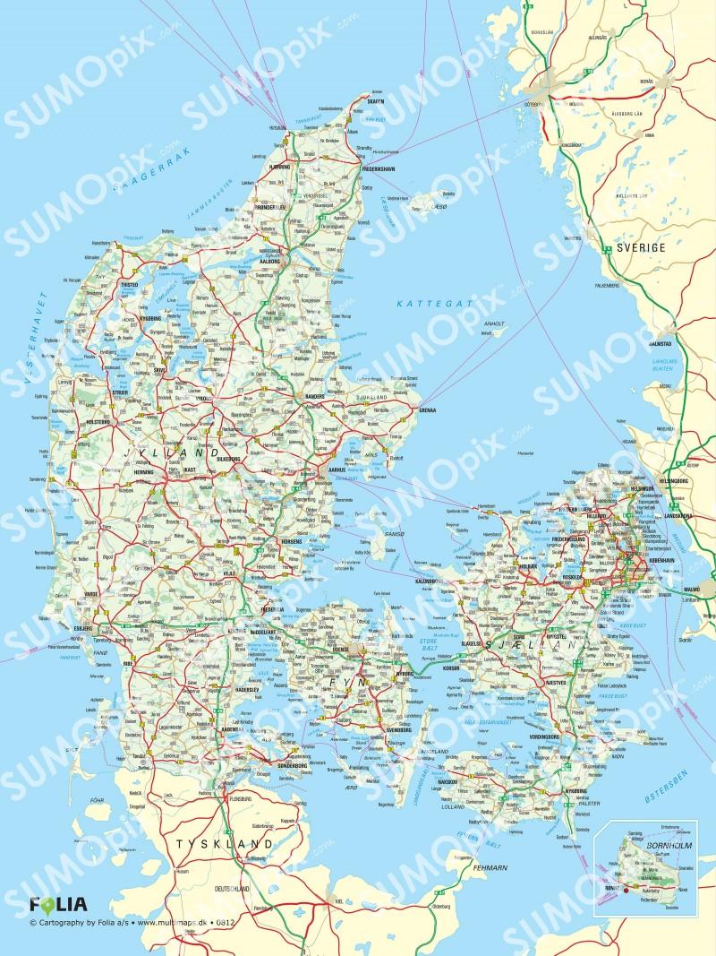 Interesseret I Et Flot Danmarkskort Sa Se Mere Her Fighter